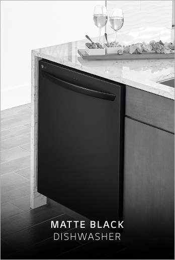 Lg Matte Black Stainless Steel Embrace The Dark Side Lg Us