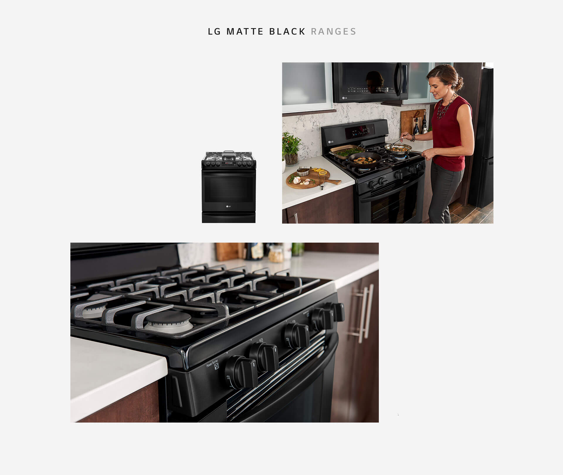 LG Matte Black Stainless Steel: Embrace The Dark Side