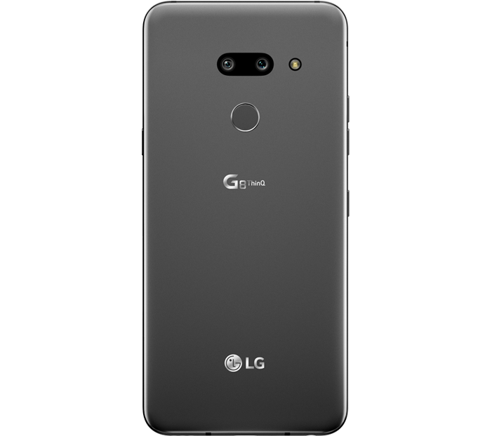 Grey LG G8 ThinQ back