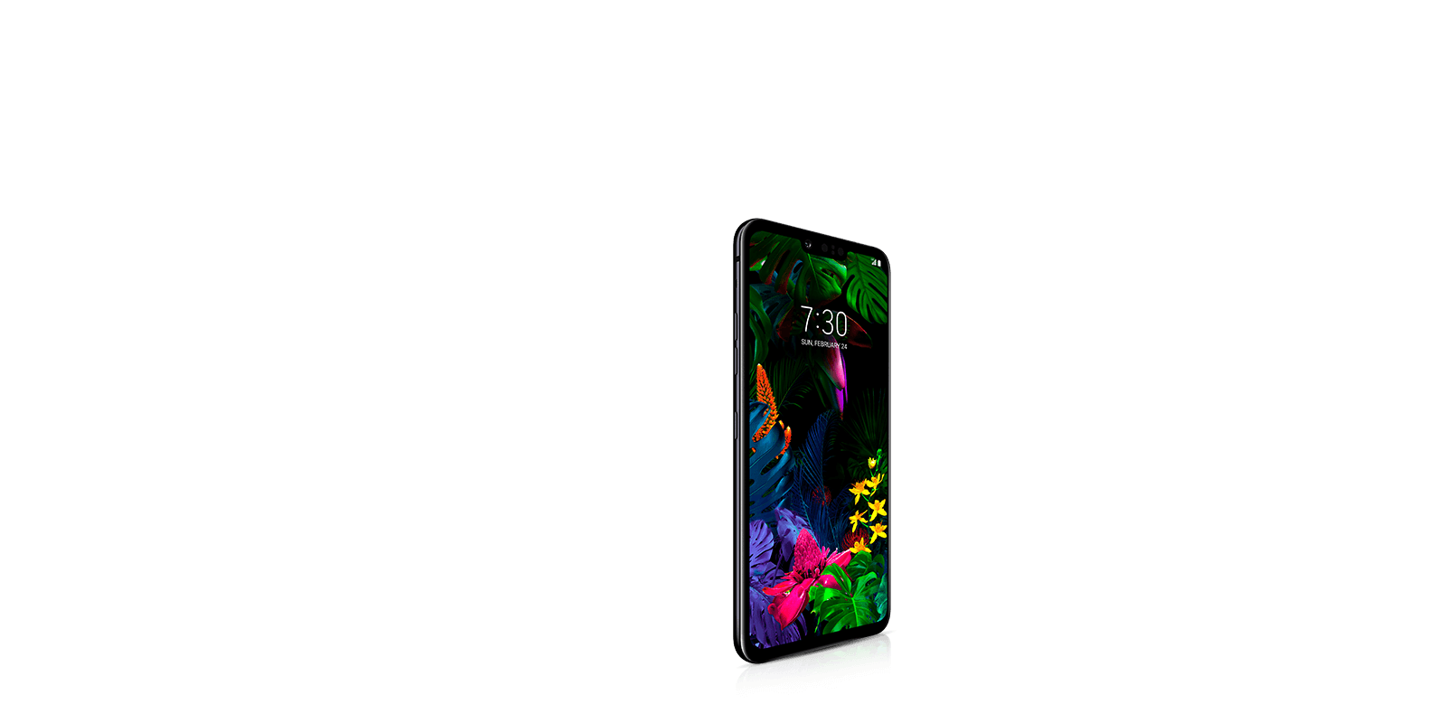 Front of LG G8 ThinQ