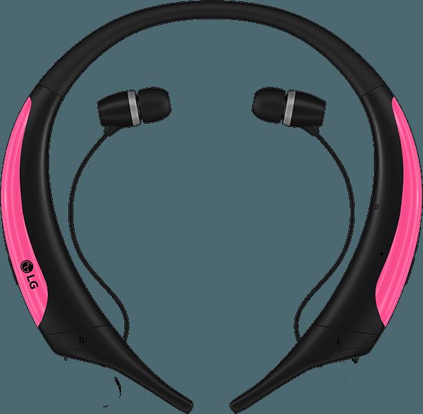 Wireless headphones lg bluetooth pink - lg bluetooth headphones around neck