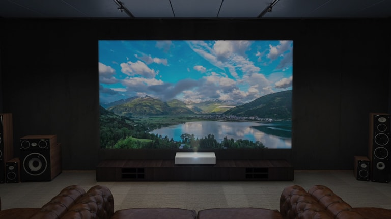 Make your story with LG CineBeam