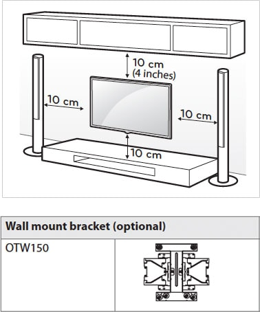 Bedroom tv wall mount height at what height should your Picture mounting height