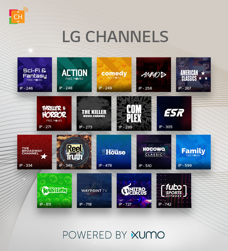 LG Channels: Free Premium Streaming, OTA Channels & More
