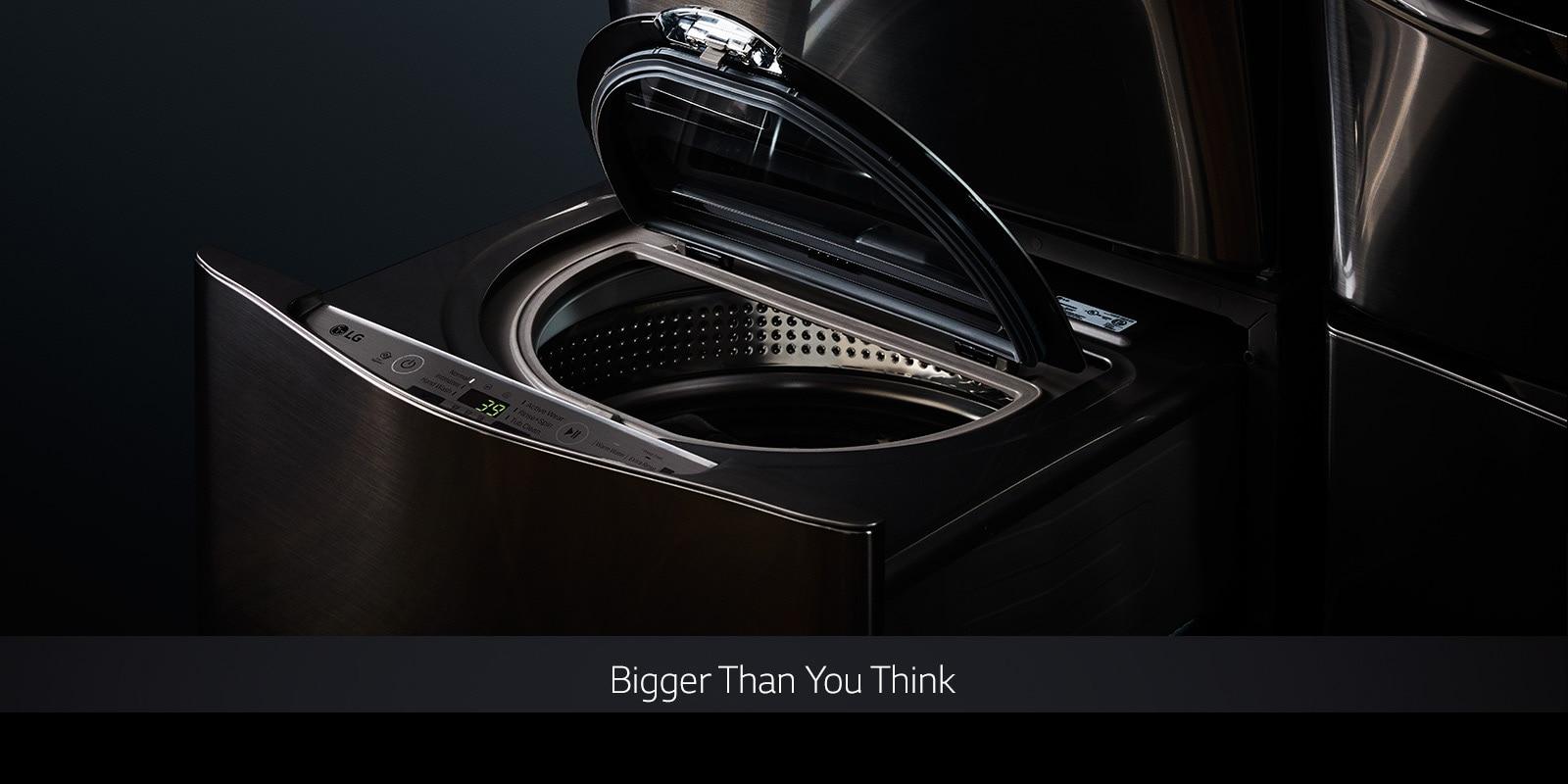 LG TWINWash™: Dual Washer w/ Flexible Washing Options | LG USA