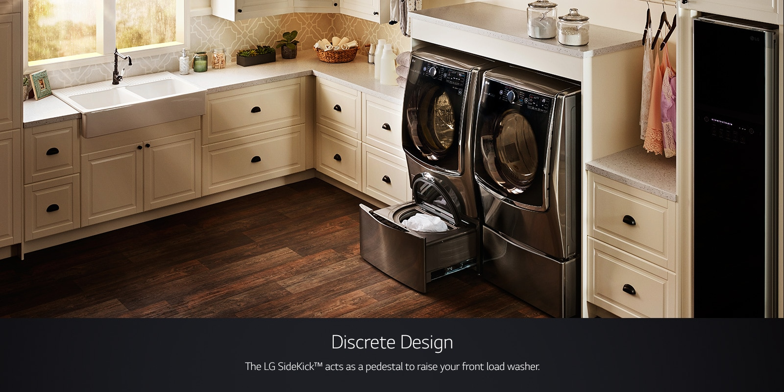 Lg Twinwash Dual Washer W Flexible Washing Options Lg Usa