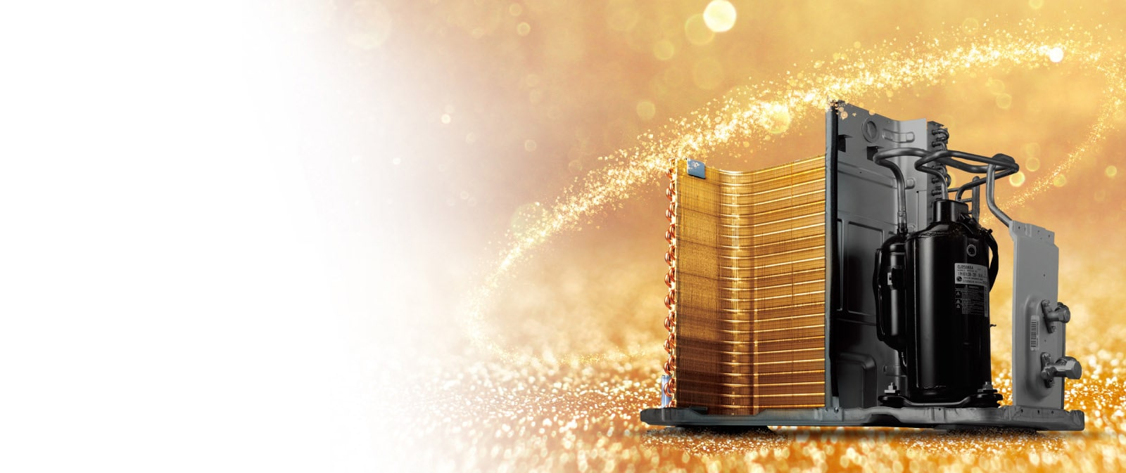 Gold-plated radiator