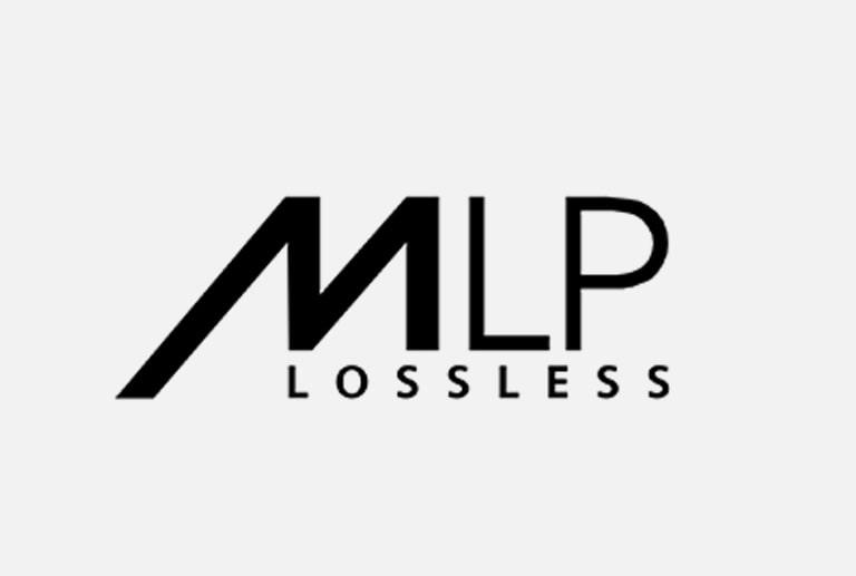 Logo của MLP trên nền xám