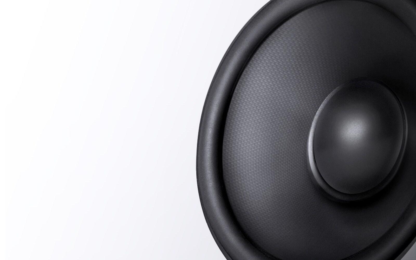 Loa trầm carbon cho âm thanh có độ trung thực cao1