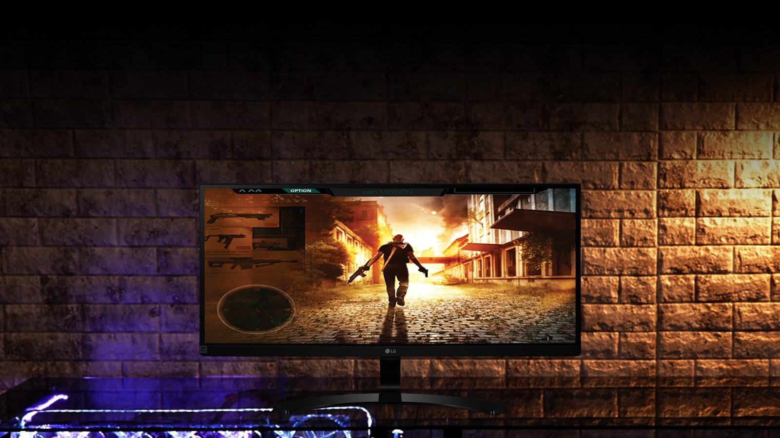 Màn Hình 21:9 UltraWide™ FHD với tấm nền IPS