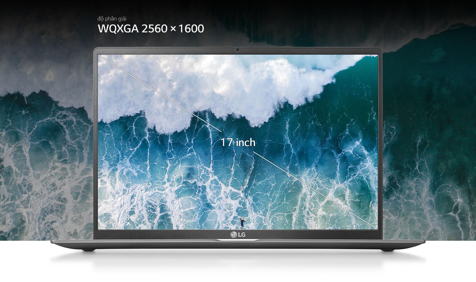 độ phân giải WQXGA 2560 x 1600
