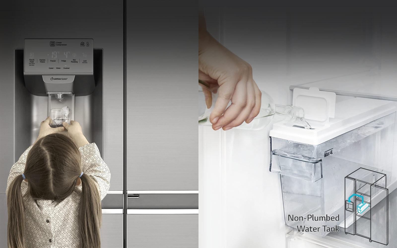 Bình chứa nước bên trong dễ dàng tháo lắp3