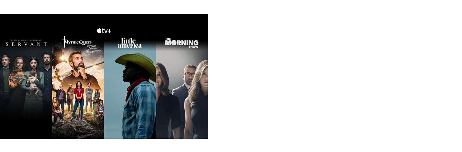 Hình nền của Apple TV+ với 4 bộ phim hàng đầu