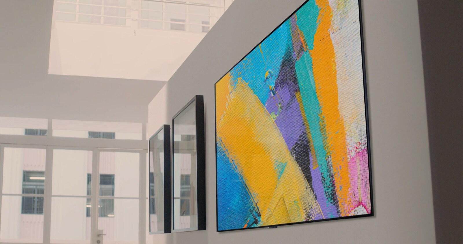 Tìm hiểu bí mật về thiết kế TV hòa quyện với bức tường nhà bạn 3