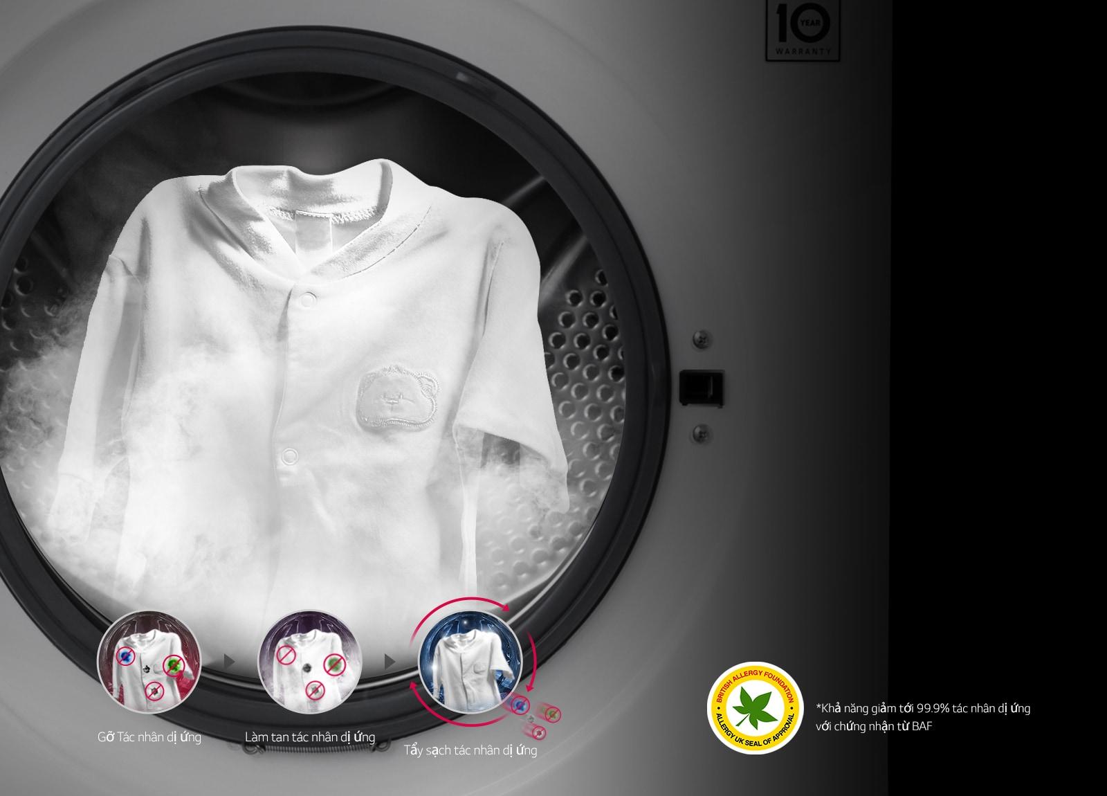 Công nghệ giặt hơi nước - TrueSteam™1