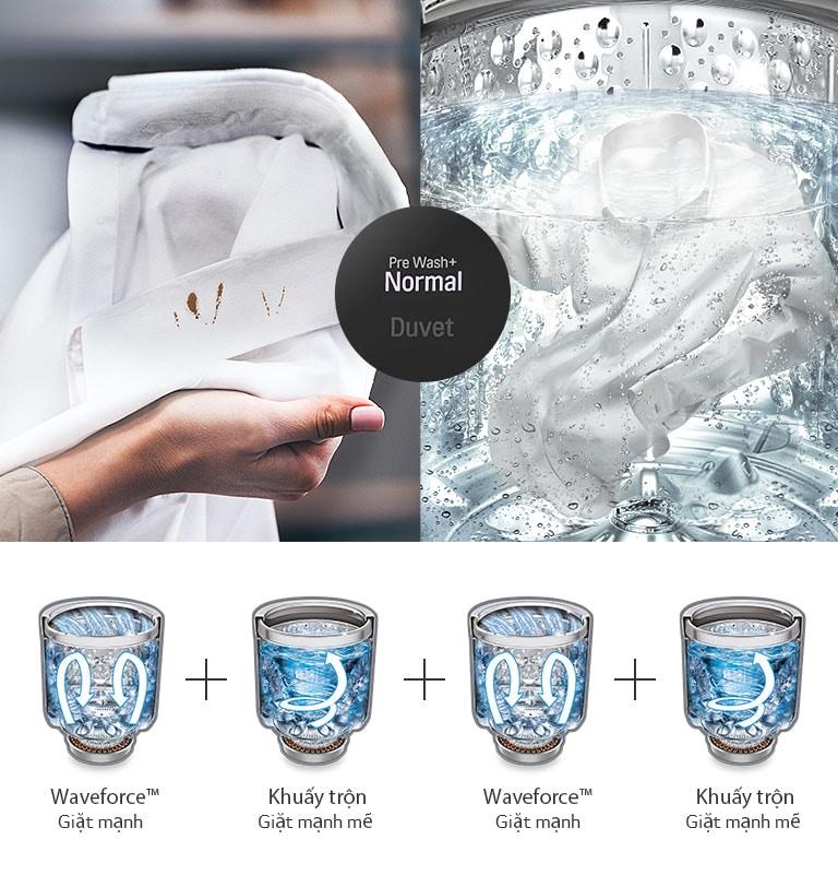 LG TurboWash3D™ Máy giặt Inverter lồng đứng 11kg (Đen) TH2111SSAB : mua  trực tuyến | LG LG Việt Nam