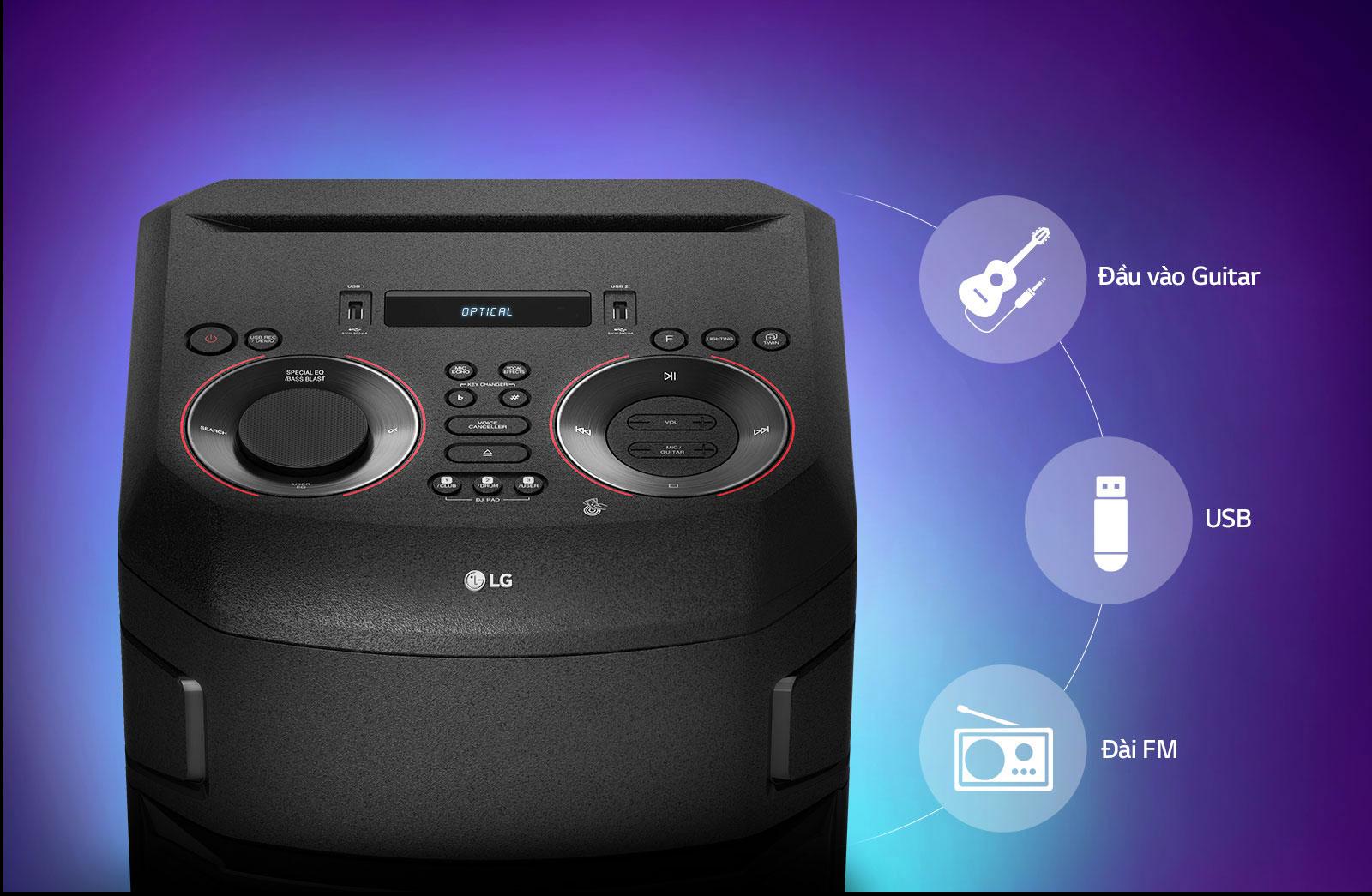 Ghi lại danh sách phát và các bản phối DJ vào USB để có thể nghe lại bất cứ lúc nào