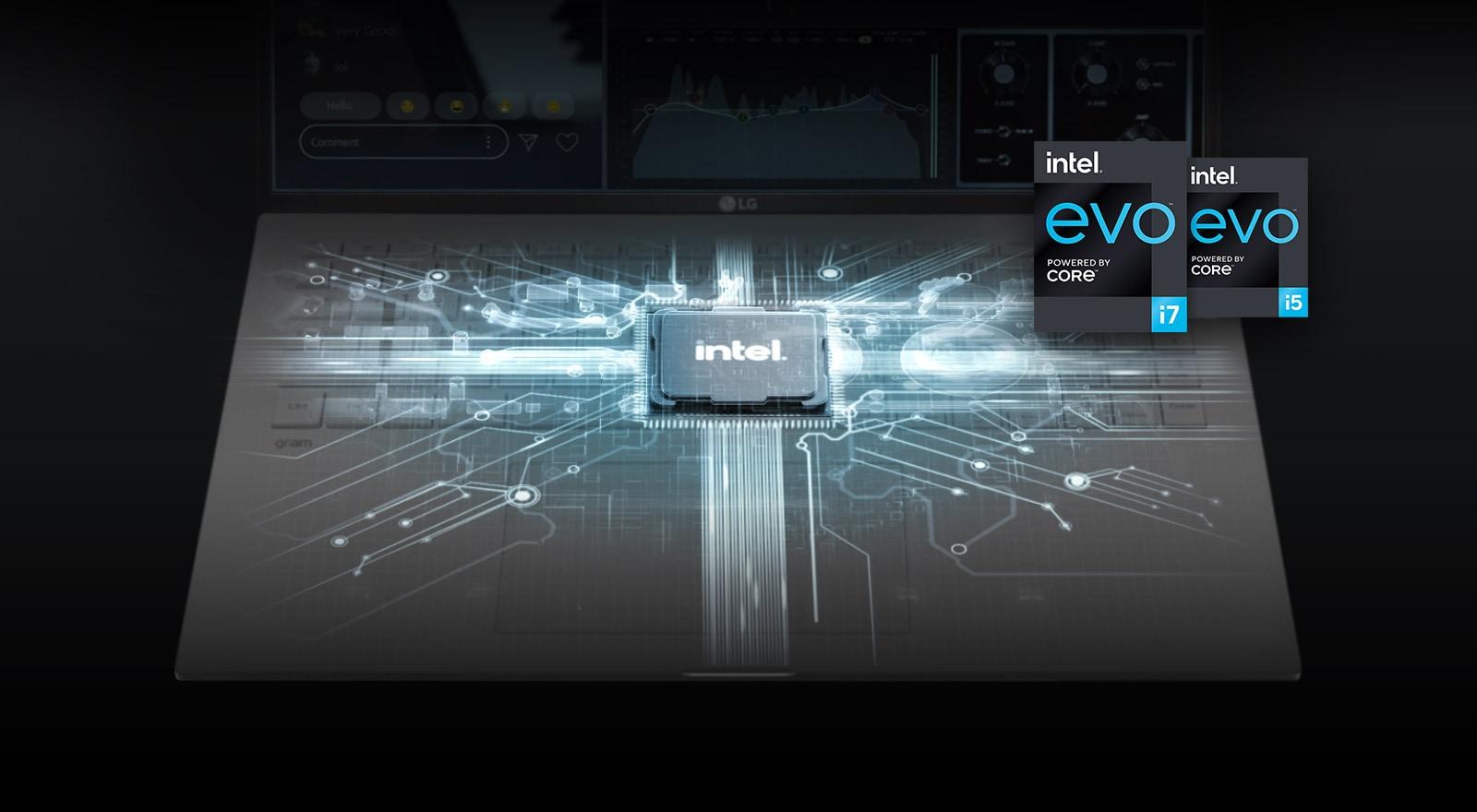 CPU Intel® thế hệ thứ 11 mang lại hiệu năng mạnh mẽ với Bộ vi xử lý và Bộ nhớ hệ thống mới nhất