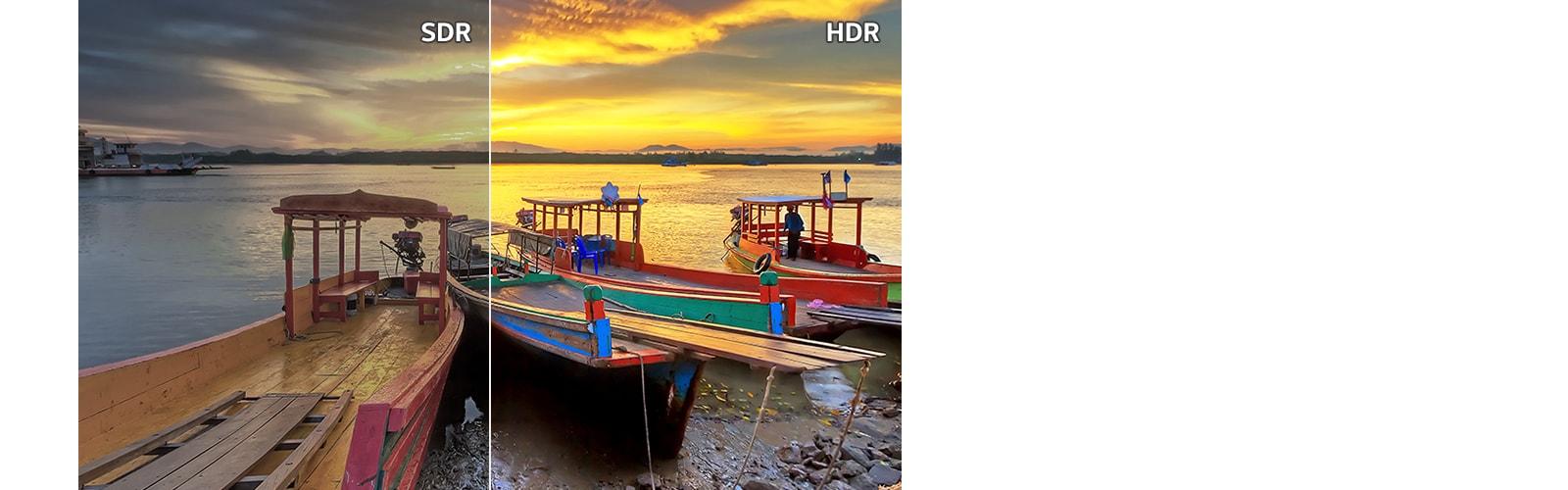 HDR 9: Độ tương phản chi tiết