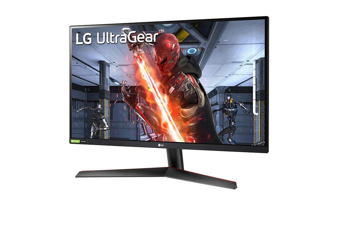 LG Màn hình máy tính LG UltraGear™ 27'' IPS QHD 144Hz 1ms (GtG) NVIDIA® G-SYNC® Compatible HDR 27GN800-B, Nhìn từ cạnh góc +15 độ, 27GN800-B