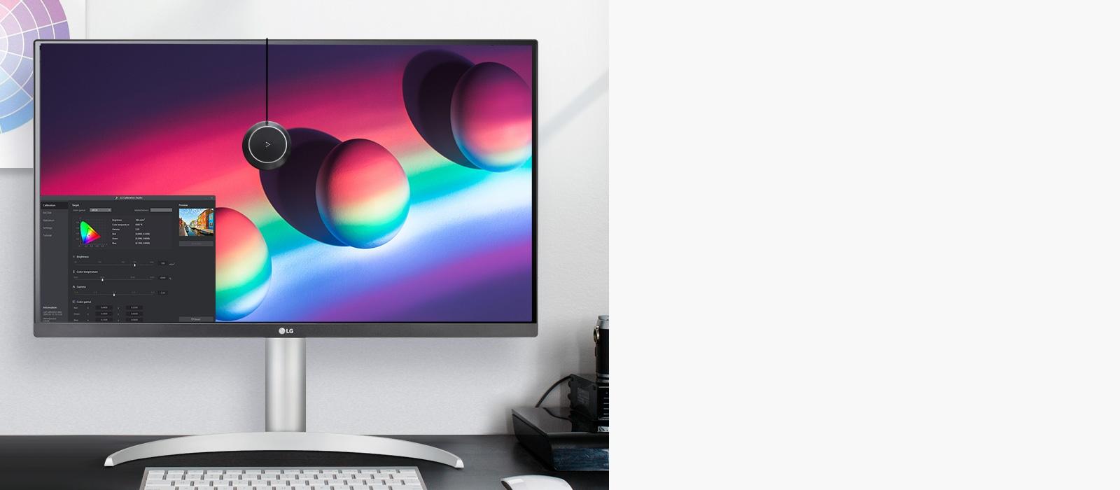 Tối ưu hóa hiệu suất màu với chức năng Hiệu chỉnh Phần cứng thông qua LG Calibration Studio