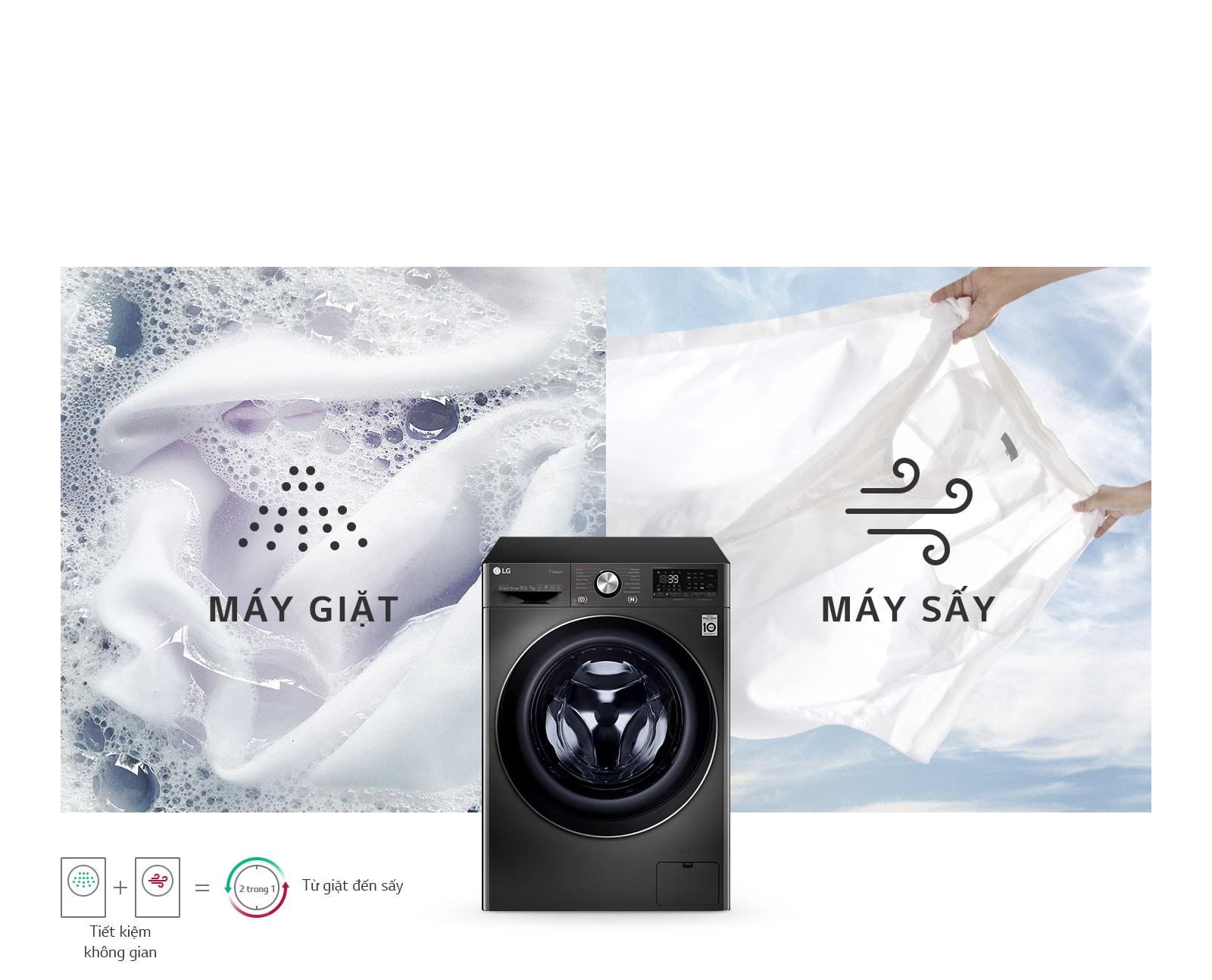 Máy Giặt & Sấy Tích Hợp Trong Một1