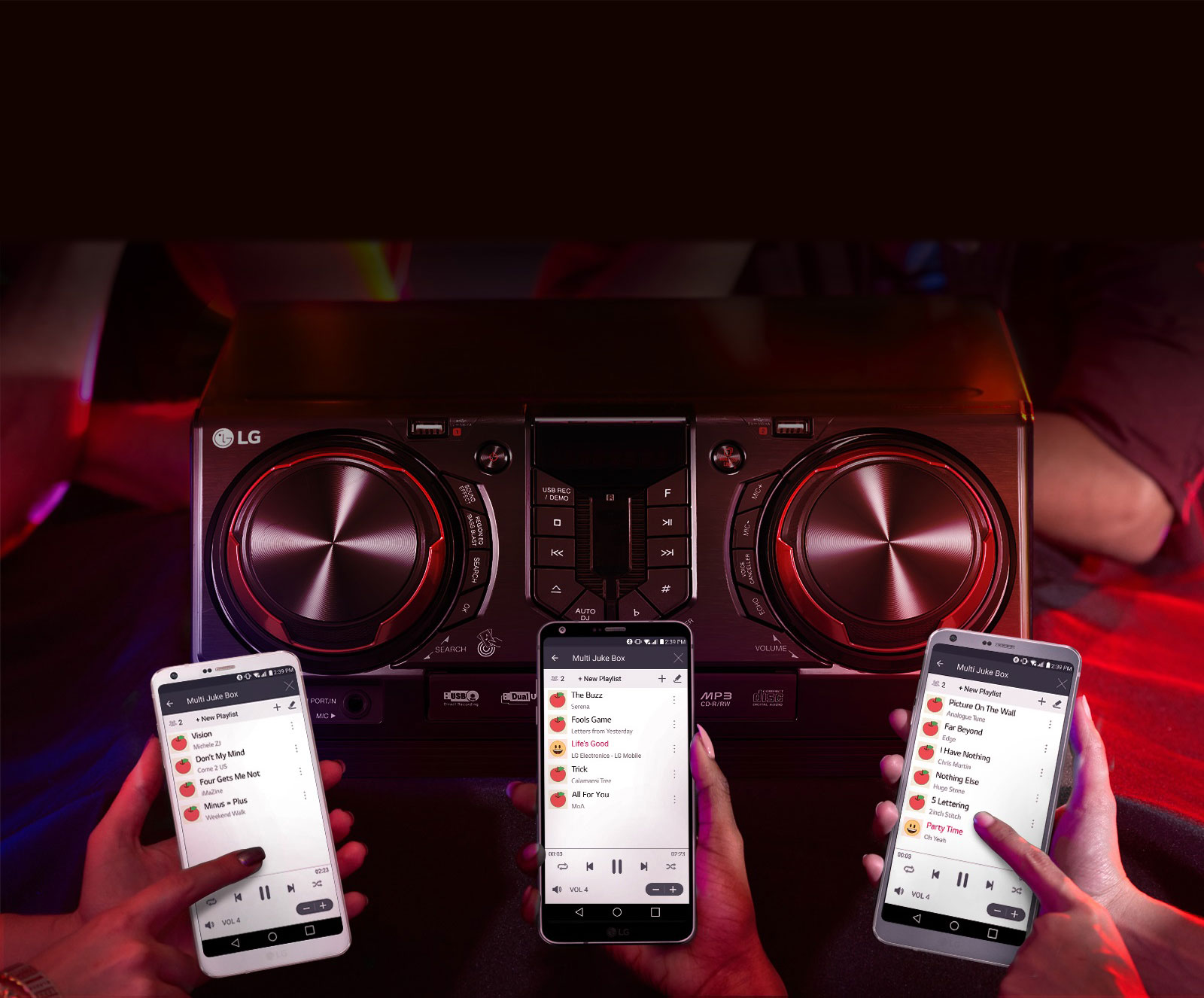 Multi Jukebox, build a playlist with your friends1