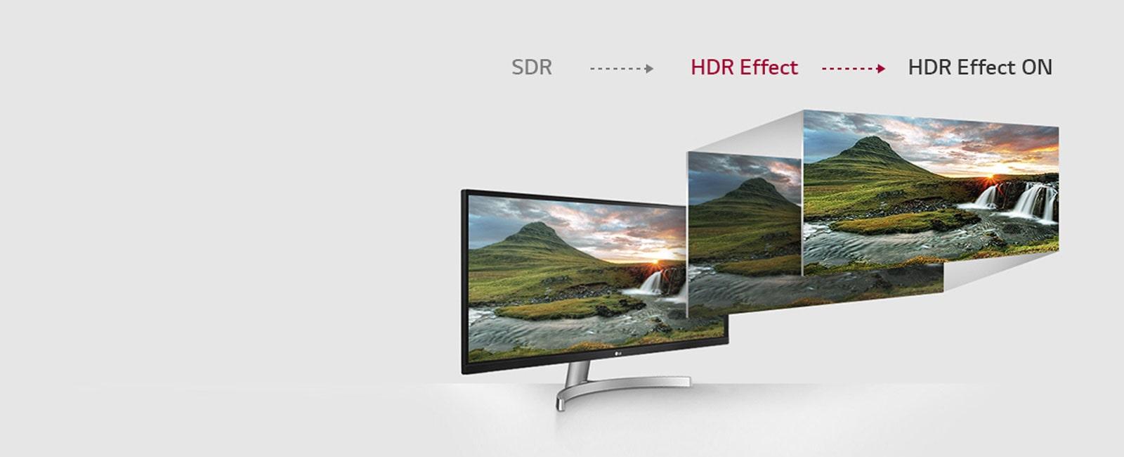 LG Monitors - HDR Effect