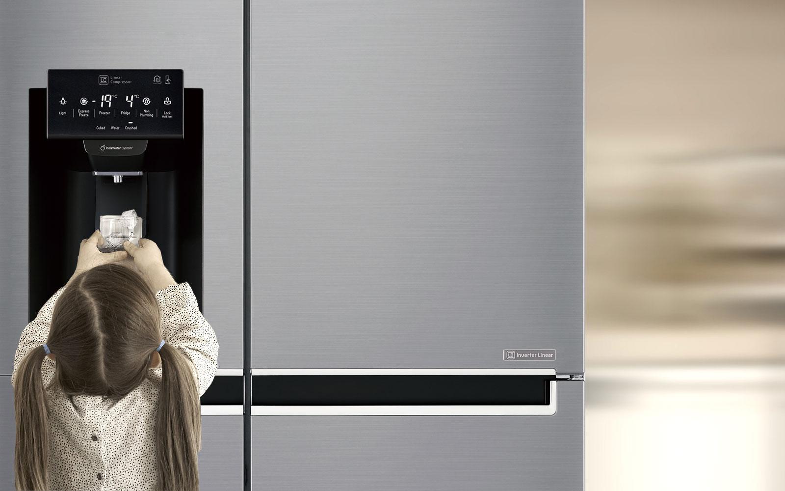 LG Fridges - Tall Ice & Water Dispenser