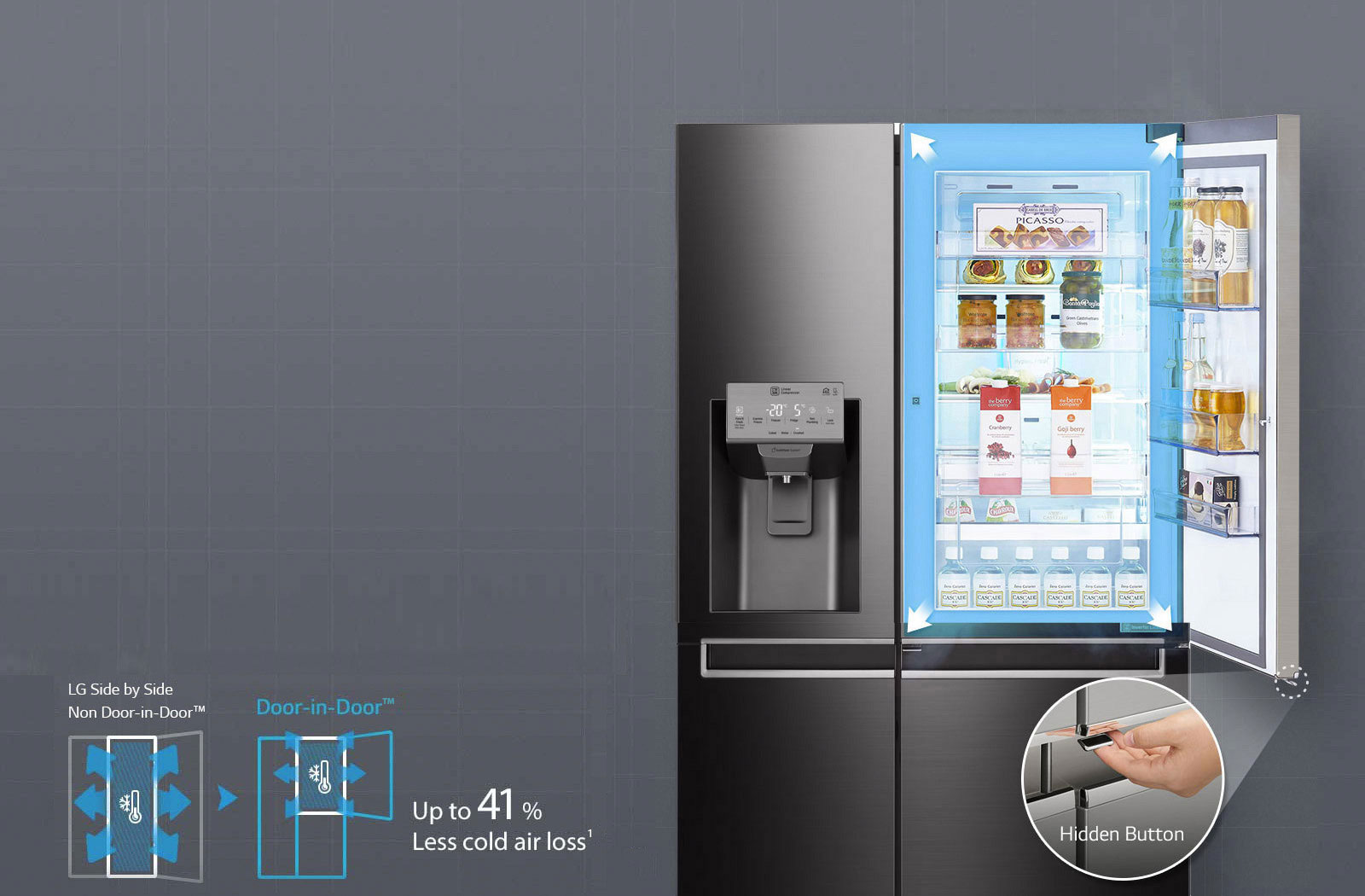 LG Fridges - Easy Access Door-in-Door®