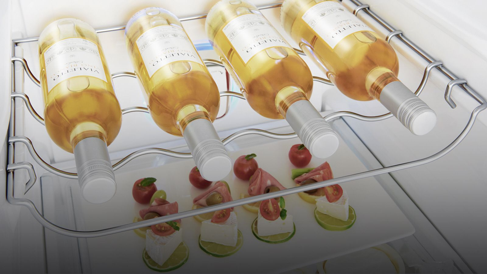 LG Fridges - Full Wine Rack