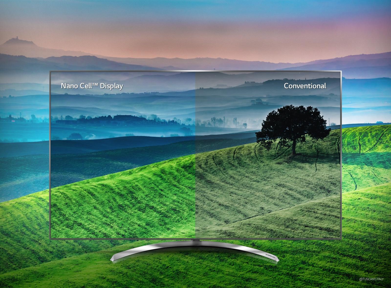 LG TV's - Nano Cell™ technology, for precise colour