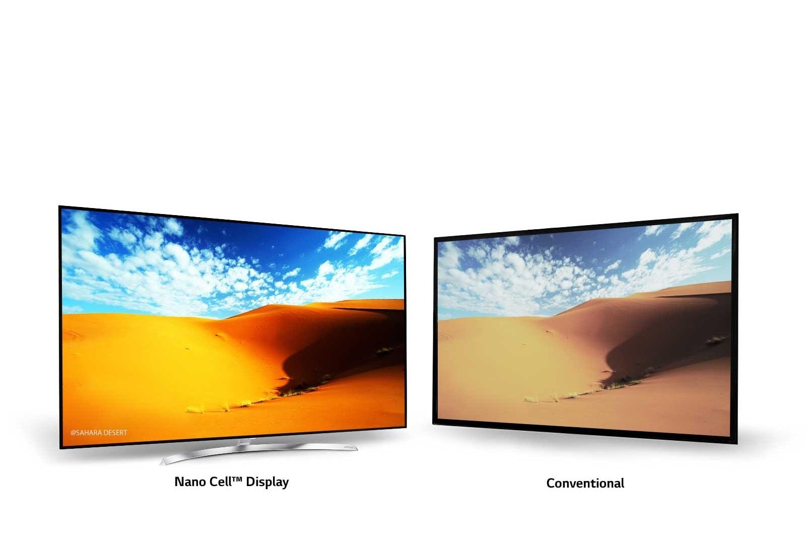 LG TV's - Genuine LED innovation & Nano particle precision