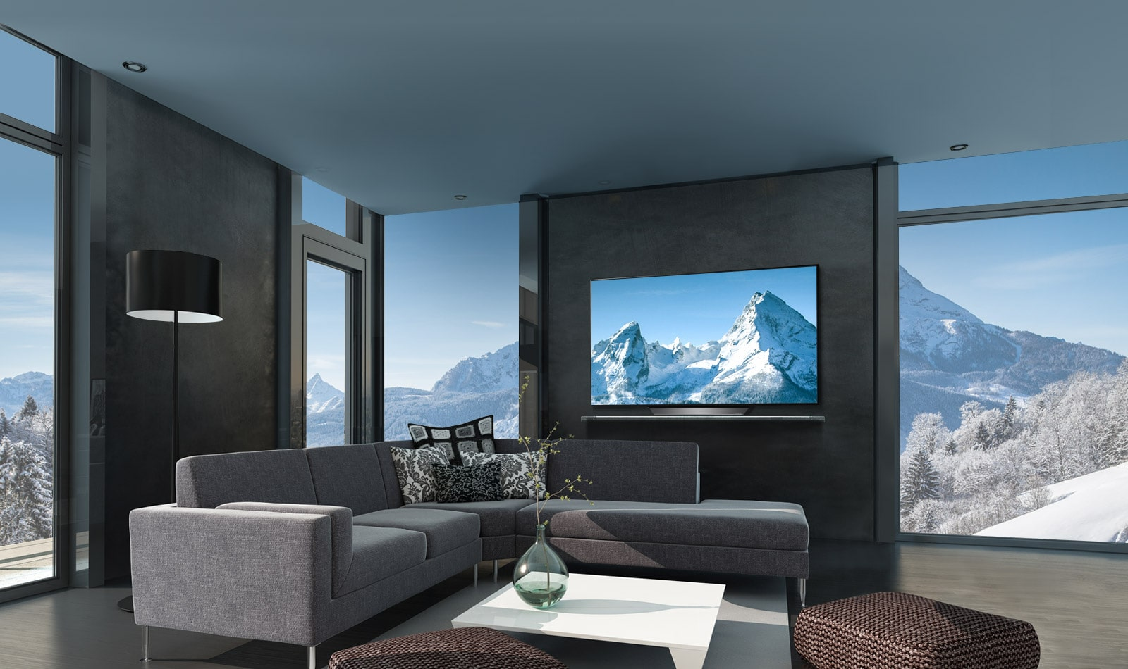 LG TV's - A seamless blend with your décor