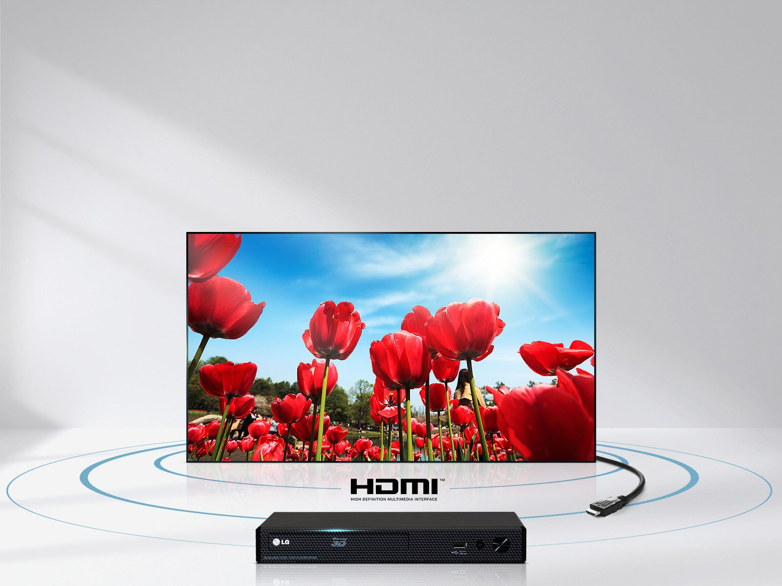 Enjoy top-quality audio and video over a single HDMI cable
