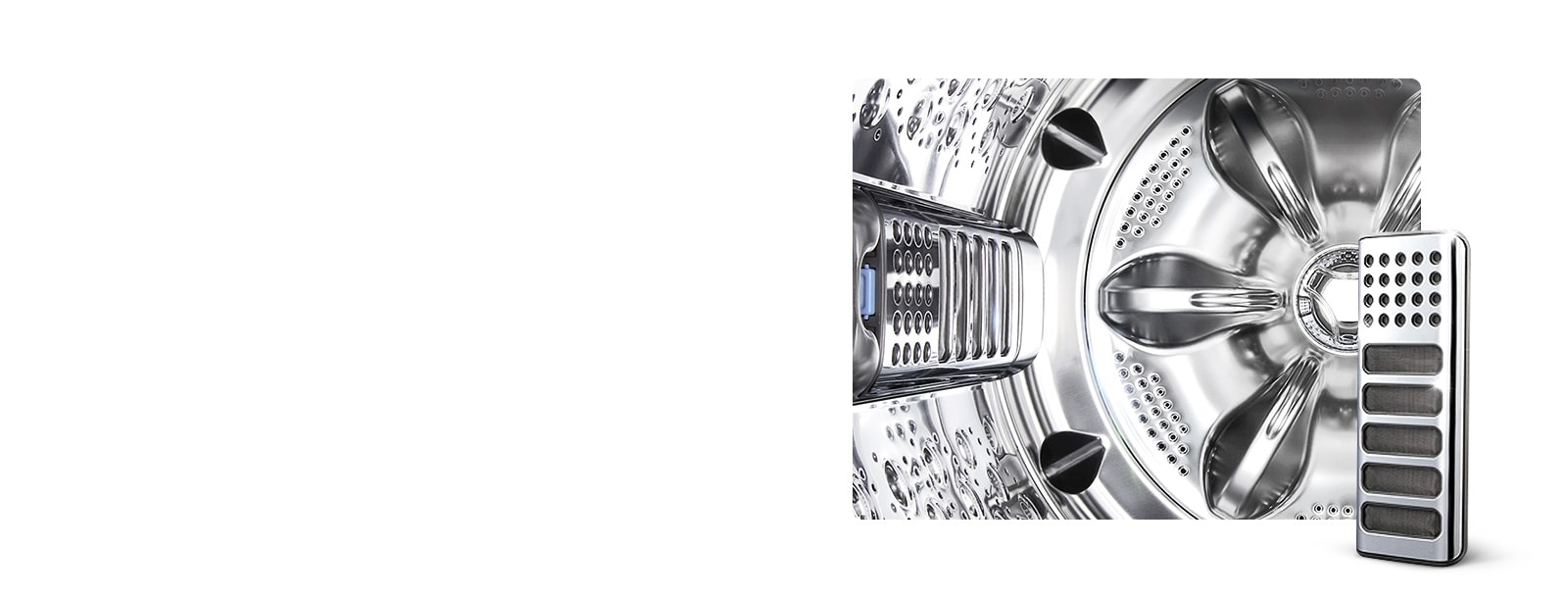 Full Stainless Steel Tub & Lint Filter1