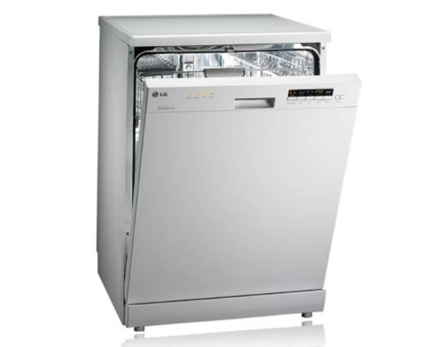 Lg D1452wf White Dishwasher