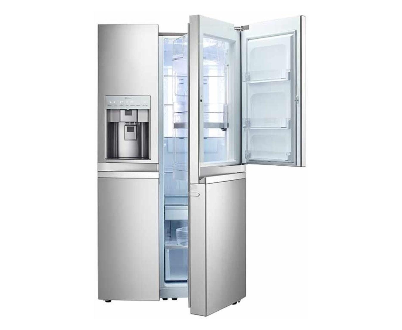 Lg Gr J257wsbn Door In Door Refrigerator