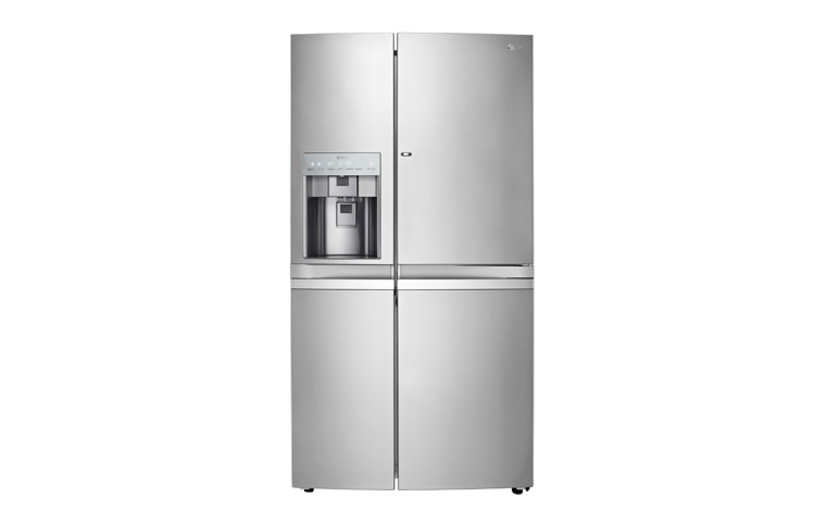 LG Fridge Freezers GR-J257WSBN thumbnail 1