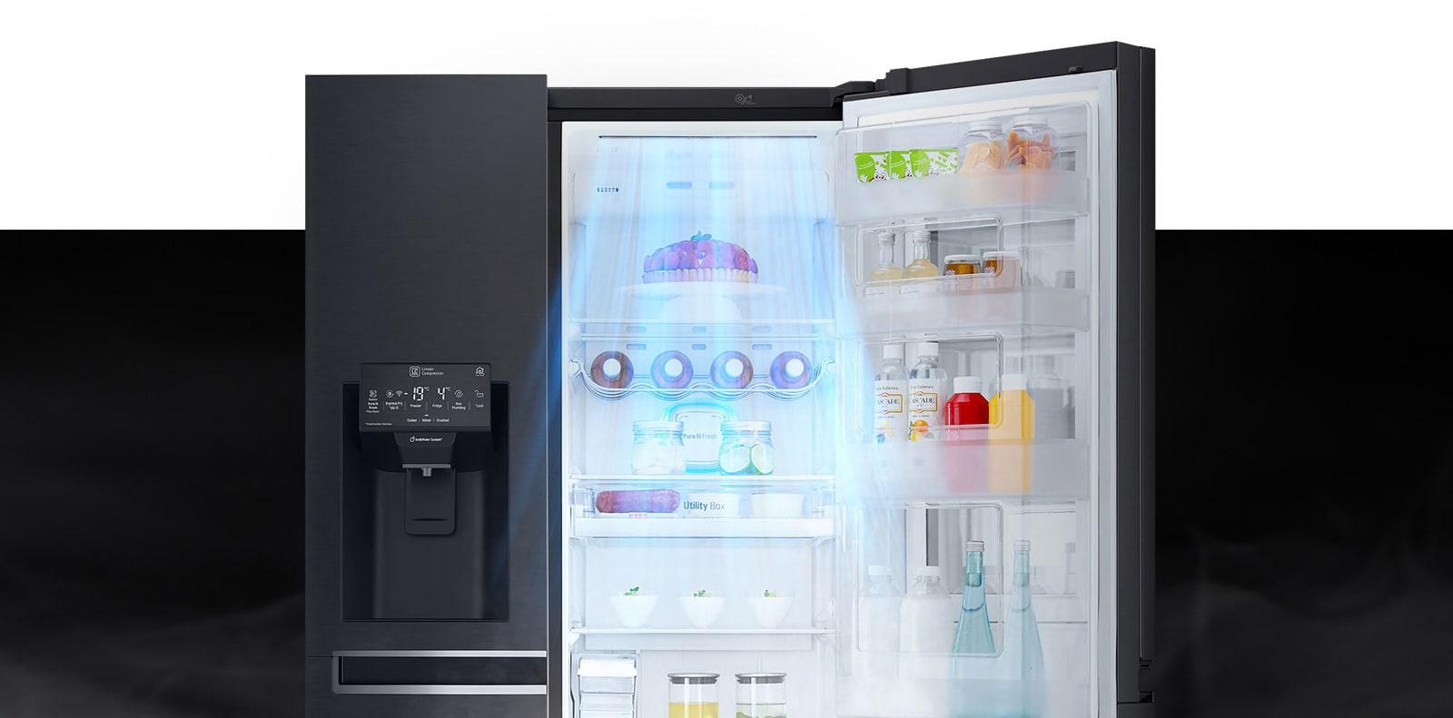 LG GC-X247CQBV Door Cooling