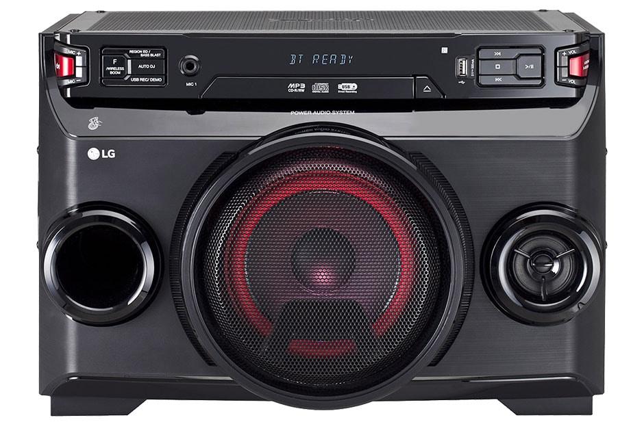 2d5bd2b8466 LG XBOOM OM4560 2500W All-in-One Mini System with Bluetooth® PMPO Watt  Sound