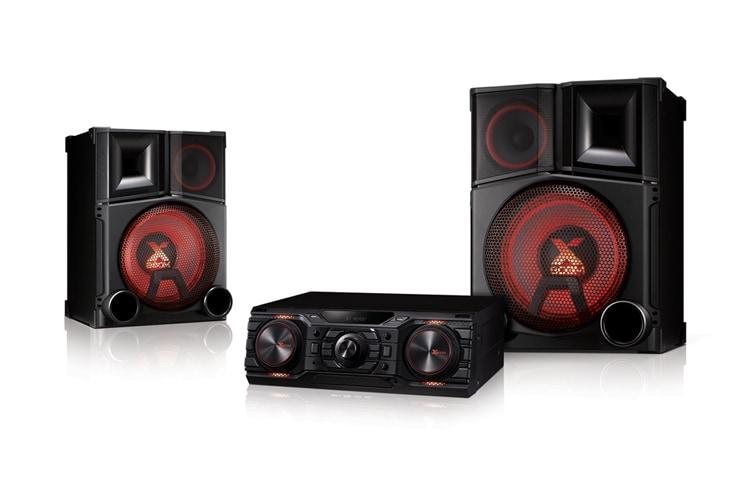 lg cm9750 3000 watts of party hi fi system lg za. Black Bedroom Furniture Sets. Home Design Ideas