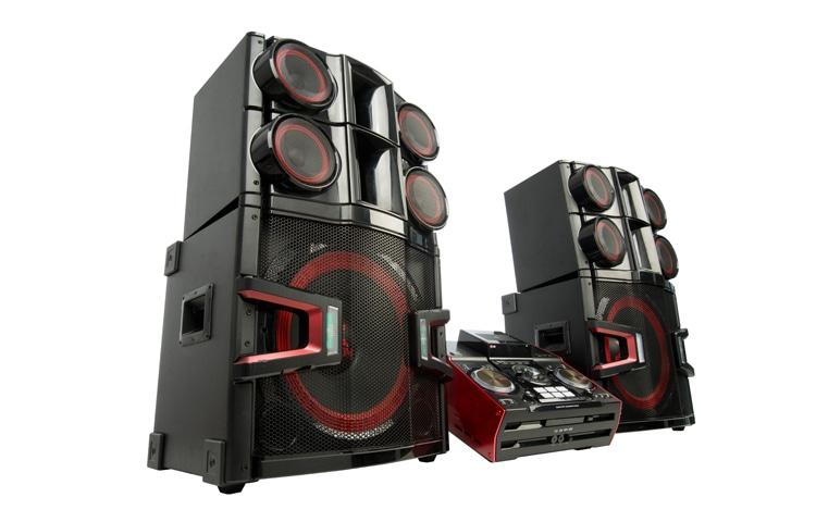 Lg Cm9940 Hi Fi Mini Audio Powerful Sound Lg Za