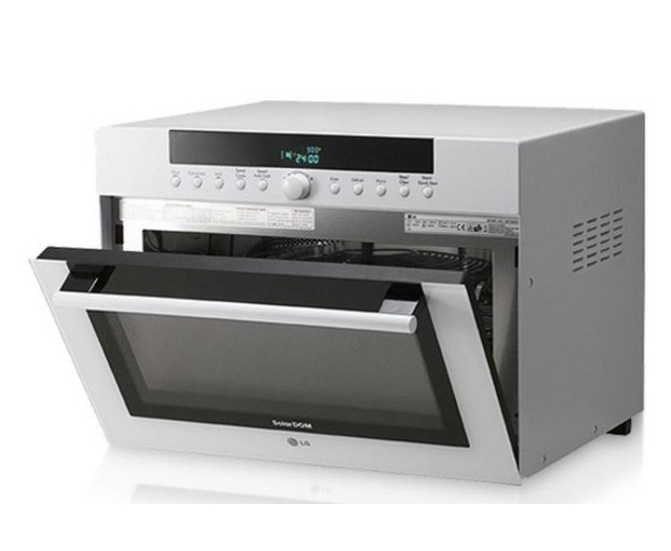 Lg Mp 9485s 34l Silver Solardom Microwave Oven Lg Za