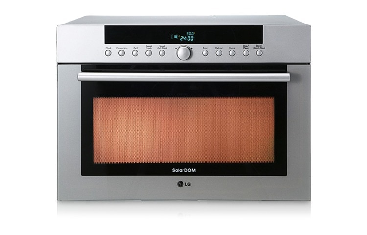 34l Silver Solardom Microwave Oven