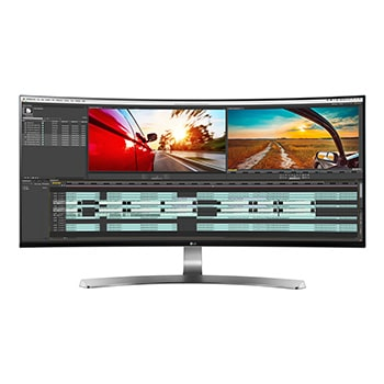 "Monitors :  34"" UltraWide® IPS Thunderbolt™ Curved LED Monitor 34UC98-W1"