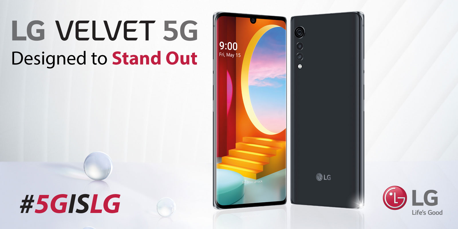 LG Velvet 5G Designed to Stand Out