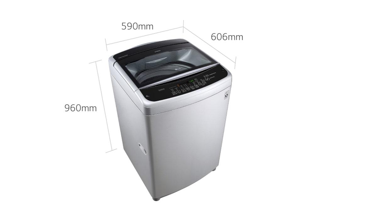 LG 13 Kg Automatic Top Load Washing Machine T1366NEFTF 3