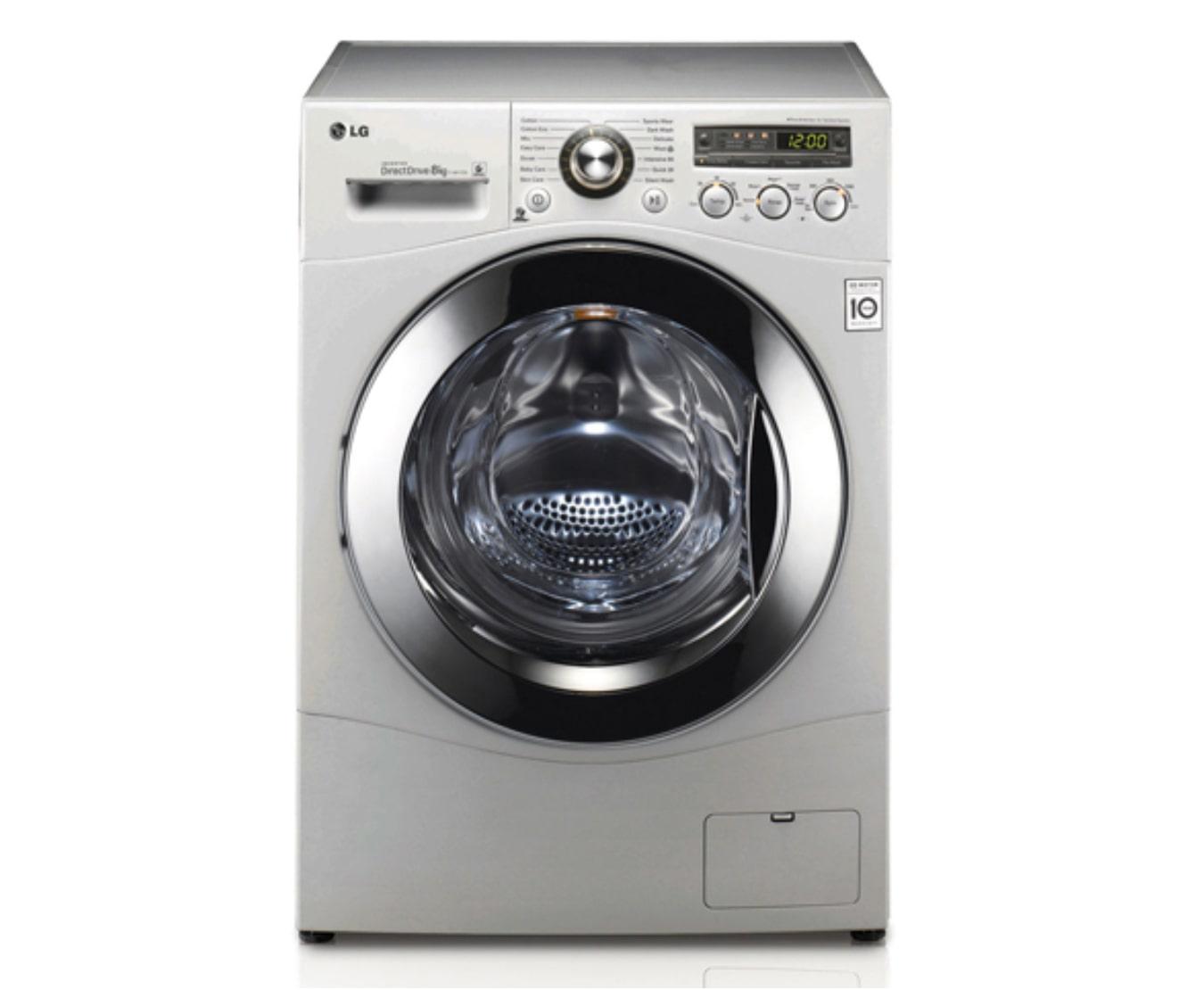 LG F1481TD5 Front Loader Washing Machine - 8KG | LG ZA on Washing Machine  id=46376