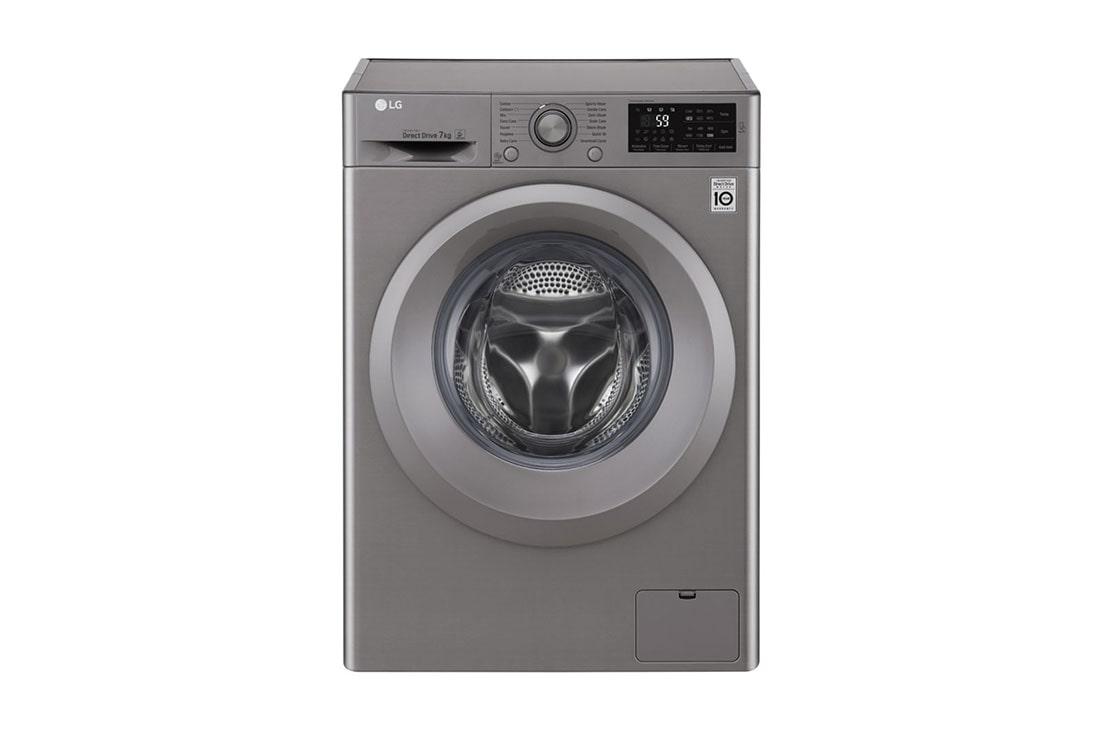 lg 7kg front loader washing machine f12u2qnp7s lg south africa. Black Bedroom Furniture Sets. Home Design Ideas